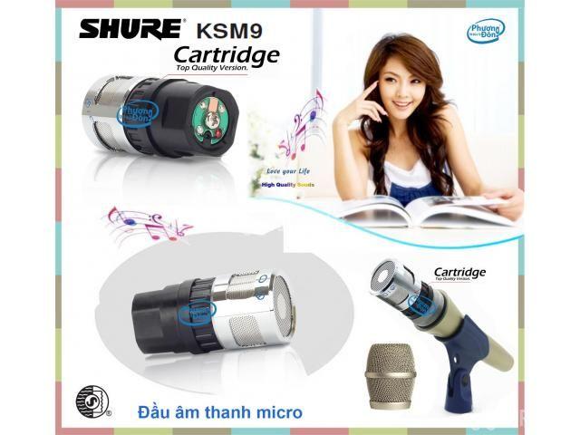 Đầu âm thanh Củ micro Shure KSM9 sản phẩm đỉnh cao - 2/4