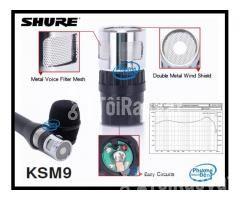 Đầu âm thanh Củ micro Shure KSM9 sản phẩm đỉnh cao - Hình ảnh 3/4