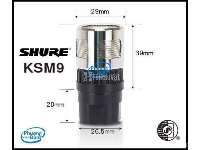 Đầu âm thanh Củ micro Shure KSM9 sản phẩm đỉnh cao - 4/4