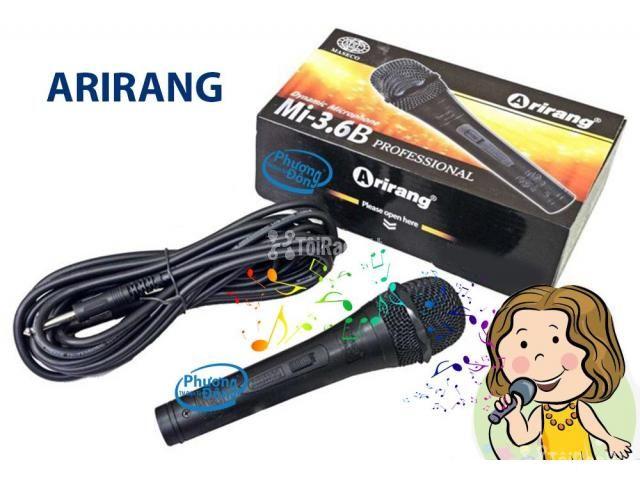 Micro Karaoke Arirang Mi-3.6B Có Dây - 1/3