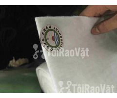Cuộn bông lọc bụi màu trắng 3mm, chính hãng. Đông Châu Co,.ltđ