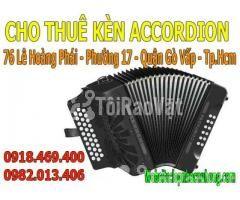 Cho thuê kèn accordion giá rẻ thủ tục nhanh gọn lẹ - Hình ảnh 1/3