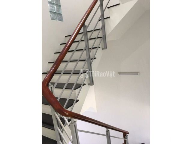 Nhà mới 3 lầu đường lớn nội bộ Phú Thuận, cho thuê tiện kinh doanh VP - 1/5