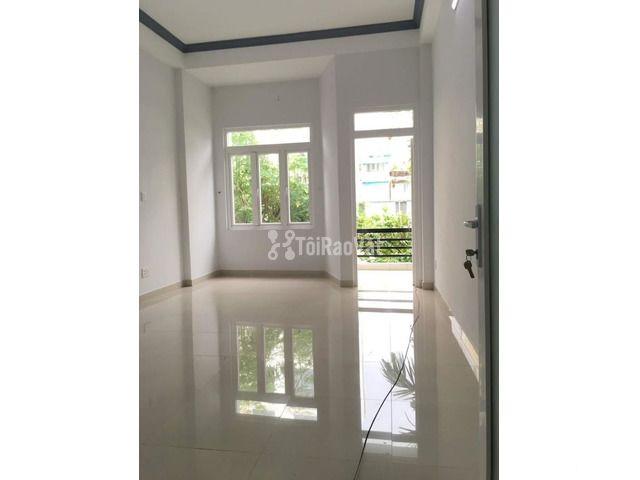 Nhà mới 3 lầu đường lớn nội bộ Phú Thuận, cho thuê tiện kinh doanh VP - 2/5