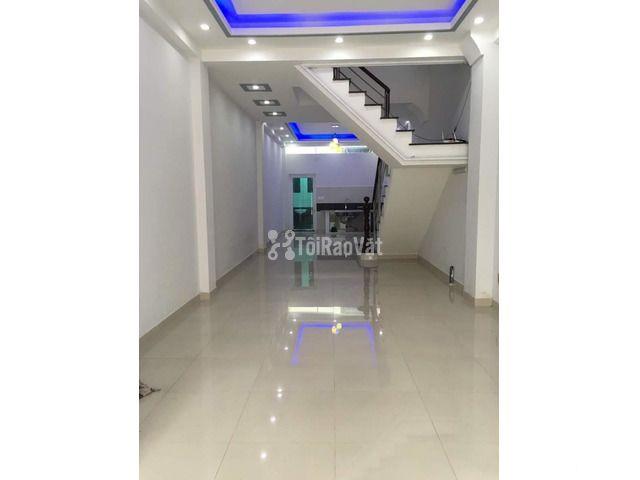Nhà mới 3 lầu đường lớn nội bộ Phú Thuận, cho thuê tiện kinh doanh VP - 4/5