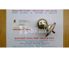 Bóng inox 304 có đế D60 – 80 – 100 Rẻ Bán phụ kiện cột cờ - Hình ảnh 2/6
