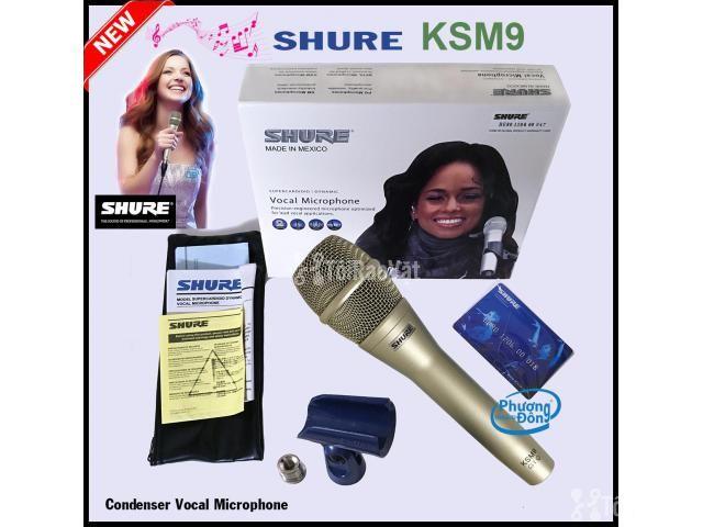 Micro Karaoke Có Dây Shure KSM9 MEXICO - 1/5