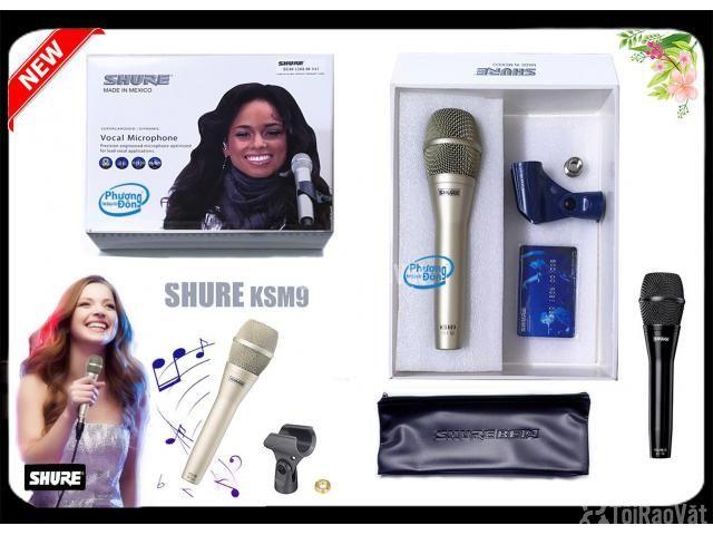 Micro Karaoke Có Dây Shure KSM9 MEXICO - 2/5