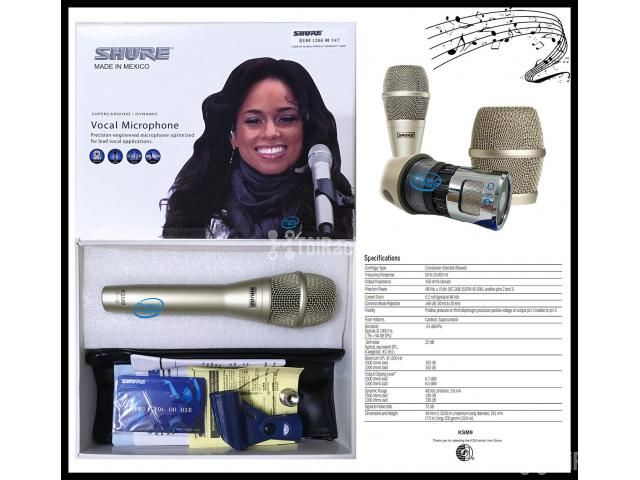Micro Karaoke Có Dây Shure KSM9 MEXICO - 4/5