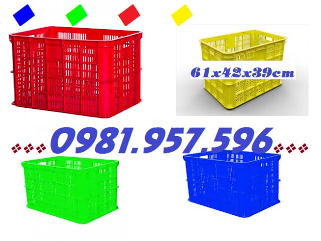 Sóng nhựa rỗng Hs005,sóng nhựa công nghiệp, sọt nhựa chở hàng - 1/2