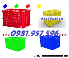 Sóng nhựa rỗng Hs005,sóng nhựa công nghiệp, sọt nhựa chở hàng - Hình ảnh 1/2