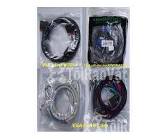Cáp Vga to DVI - Cáp Máy In - HDMI Splitter 1 ra 2 - Hình ảnh 2/3