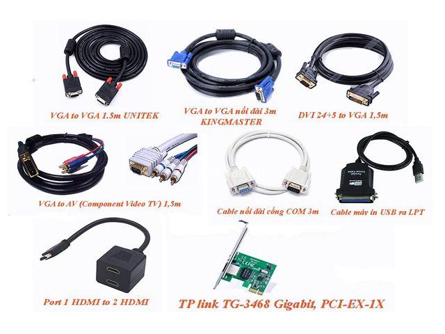 Cáp Vga to DVI - Cáp Máy In - HDMI Splitter 1 ra 2 - 3/3