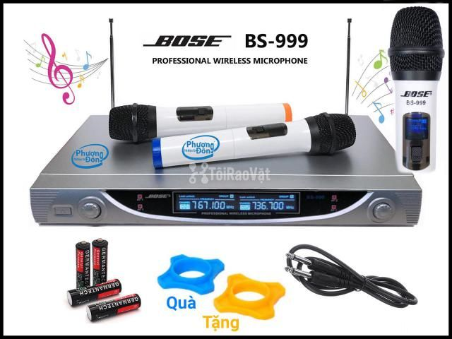 Micro Karaoke BOSE BS-999 Professional không dây - 3/4