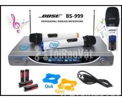 Micro Karaoke BOSE BS-999 Professional không dây - Hình ảnh 3/4