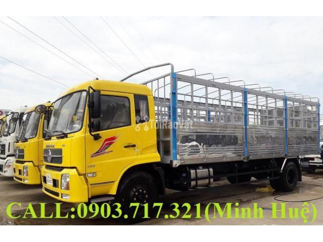 Xe tải DongFeng 9 tấn Euro 5 nhập 2019 thùng 7m7, 9m5 giá tốt - 1/1