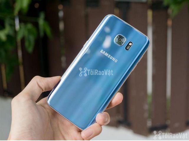 Samsung S7 Edge màu Xanh 64gb 2Sim Zin 100% - 1/1