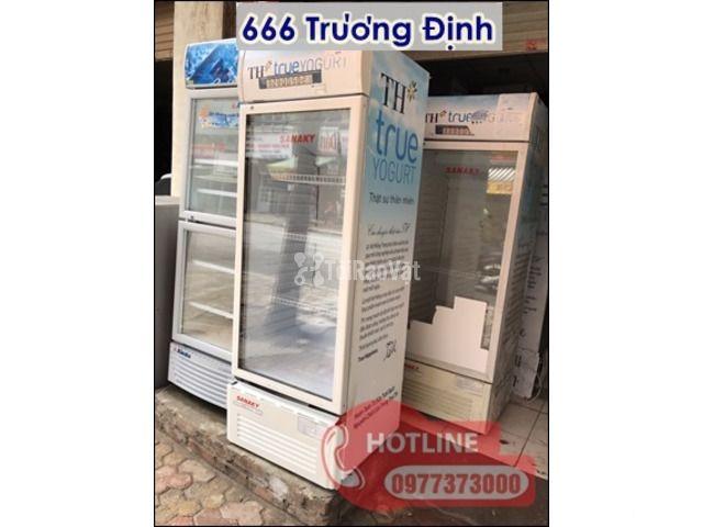 bán tủ lạnh sinh viên giá rẻ tại 666 Trương Định - 3/5