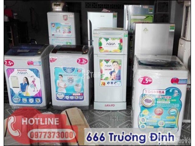 bán tủ lạnh sinh viên giá rẻ tại 666 Trương Định - 4/5