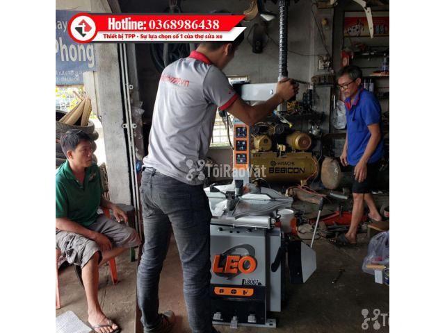Máy Tháo Vỏ Xe Tay Ga, Xe Du Lịch LEO L8001 - 3/4