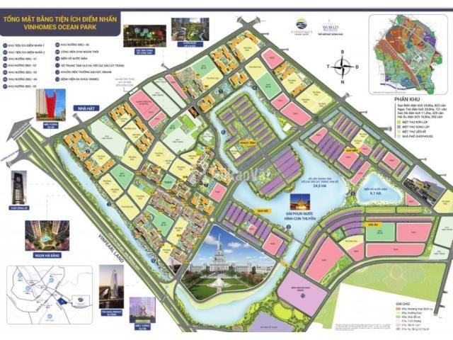 vinhome ocean park - bán 2 căn 2pn2vs 63m giá 1,75-1,8 tỷ LH 036697904 - 4/6