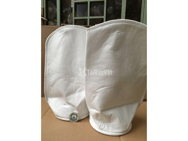 Túi lọc PP 1 micron may miệng vòng inox, hàng universal. Đông Châu - 1/1