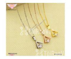 Set DC + BT titan nữ mặt tam giác kết đá mã BTS17 - Hình ảnh 3/6