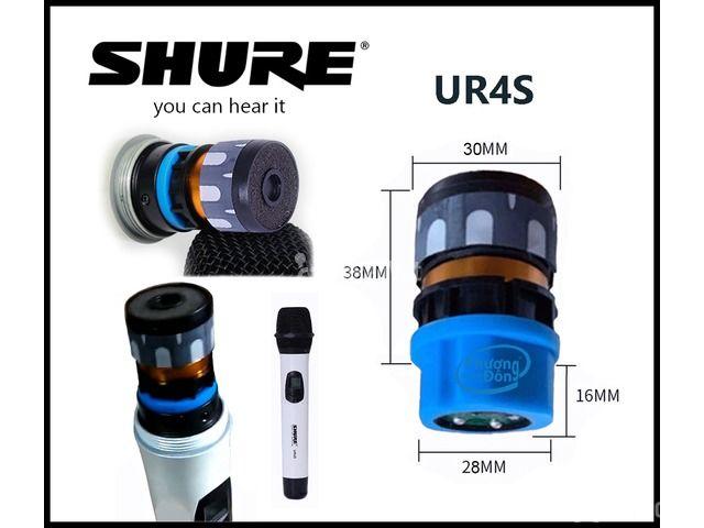 Củ mic Shure UR4S Đầu âm thanh micro đẳng cấp - 1/3