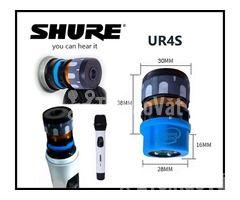 Củ mic Shure UR4S Đầu âm thanh micro đẳng cấp - Hình ảnh 1/3
