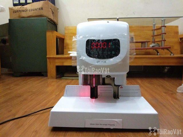 Máy khoan đóng chứng từ bằng ống nhựa CD 900 tại Đà Nẵng  - 1/1