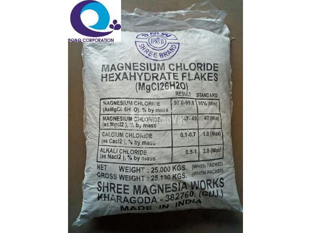 Cung cấp MgCl2, magie chlorua,  Magiesium chloride khoáng chất bổ sung - 1/1