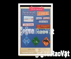 In nhãn tên, logo trên chất liệu vải decal/inox đỗ keo - Hình ảnh 1/4