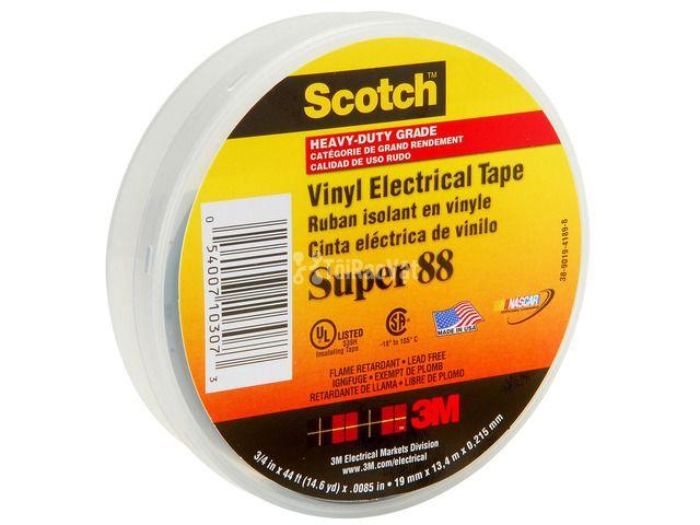 Băng keo cách điện cao cấp 3M Super Scotch 88, chính hãng. Đông Châu  - 1/1
