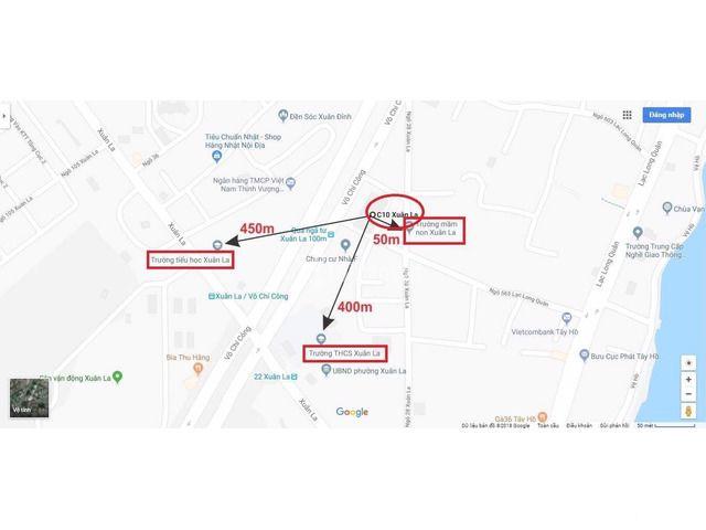Bán căn hộ chung cư mặt đường Võ Chí Công, 69.17m2, 2PN, chỉ 1.9 tỷ - 2/3