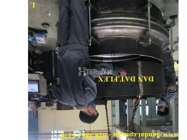 Ống giãn nở mặt bích Jis 10K - khớp co giãn - khớp giãn nở nhiệt inox - 2/6