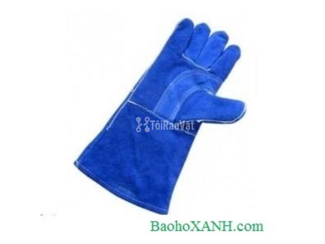 Bán găng tay da dài- da lộn mềm chống nóng chất lượng cao - 1/1