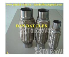 Ống mềm chống rung động cơ dùng trong nhà máy ô tô - Khớp nối mềm inox - Hình ảnh 2/6