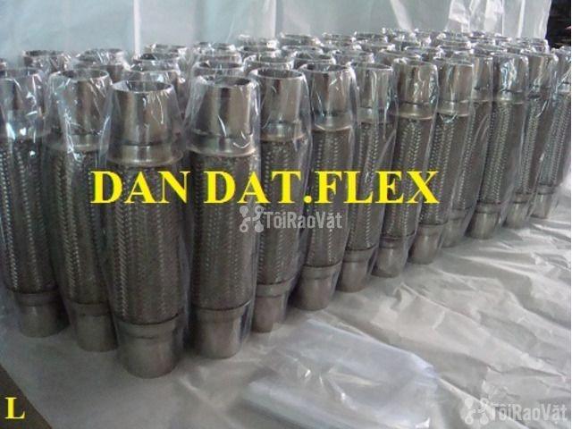 Ống mềm chống rung động cơ dùng trong nhà máy ô tô - Khớp nối mềm inox - 3/6