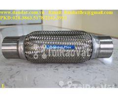 Ống mềm chống rung động cơ dùng trong nhà máy ô tô - Khớp nối mềm inox - Hình ảnh 4/6