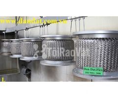 Ống mềm chống rung động cơ dùng trong nhà máy ô tô - Khớp nối mềm inox - Hình ảnh 5/6