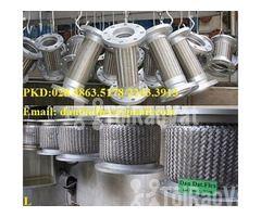 Ống mềm chống rung động cơ dùng trong nhà máy ô tô - Khớp nối mềm inox - Hình ảnh 6/6