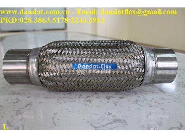 ống chôn bê tông (ống thép 0.6ly)/khớp nối mềm/khớp chống rung - 2/6