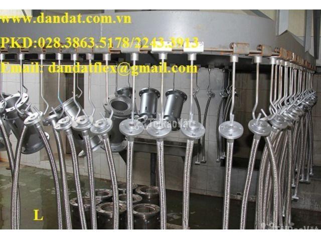 ống chôn bê tông (ống thép 0.6ly)/khớp nối mềm/khớp chống rung - 5/6