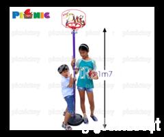 Bộ đồ chơi bóng rổ 1,7m chỉnh 4 nấc chiều cao