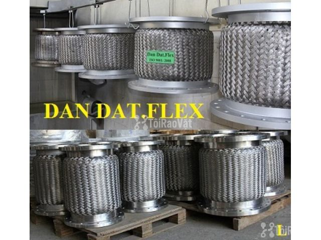 Khớp nối mềm kết nối mặt bích (inox/thép)_Dandat.Flex - 1/6