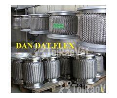 Khớp nối mềm kết nối mặt bích (inox/thép)_Dandat.Flex - Hình ảnh 1/6