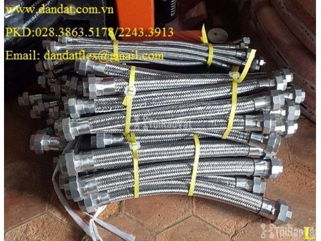 Khớp nối mềm 2 đầu mặt bích Jis 20K 304, khớp chống rung inox  - 4/6