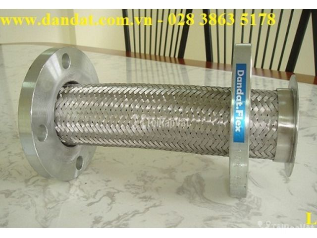 """Ống ruột gà inox có lưới 1""""/khớp chống rung inox/ống mềm giảm chấn - 2/6"""
