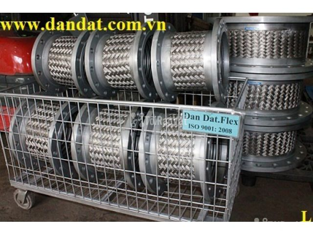 """Ống ruột gà inox có lưới 1""""/khớp chống rung inox/ống mềm giảm chấn - 6/6"""