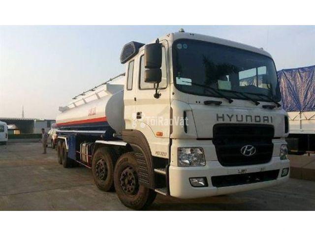 Xe chở xăng dầu Hyundai 3 chân 18 khối - 1/3